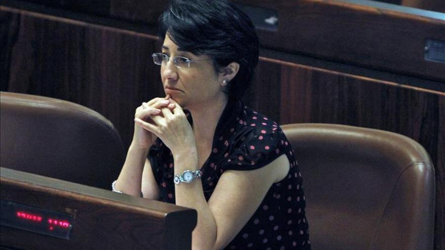 La diputada árabe Hanin Zoabi descalificada como candidata al Parlamento israelí