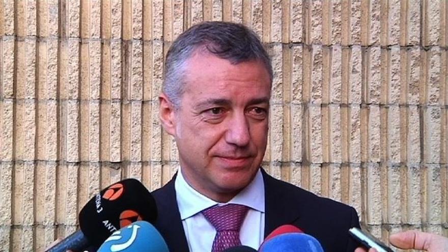 """Urkullu dice que no va a """"recortar"""" en Sanidad, Educación y Políticas Sociales  """"ni antes ni después de las elecciones"""""""