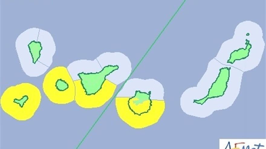 Aviso amarillo por altas temperaturas (Canarias Ahora)