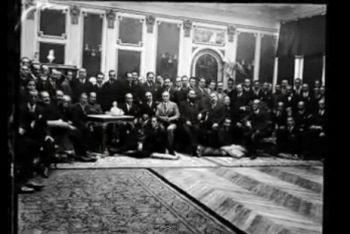 Inauguración del estudio grande de Fuencarral en 1923