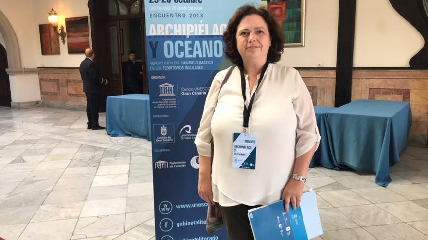 Yolanda Luna, jefa del departamento de Desarrollo y Aplicaciones de la Agencia Estatal de Meteorología.