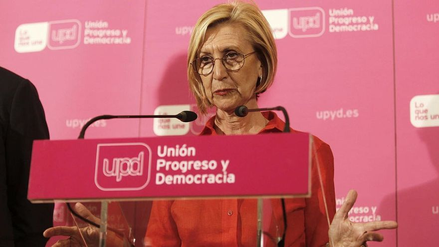 Rosa Díez. (EFE).