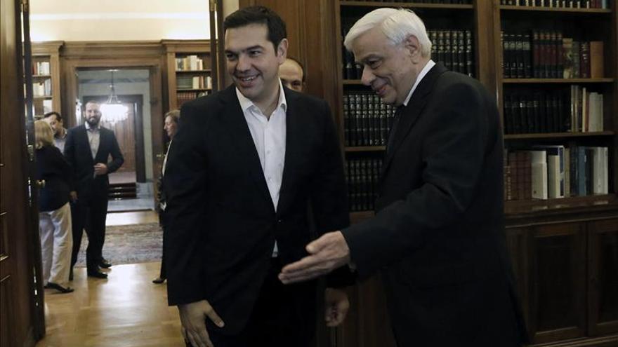 Tsipras jura por segunda vez en ocho meses como primer ministro de Grecia
