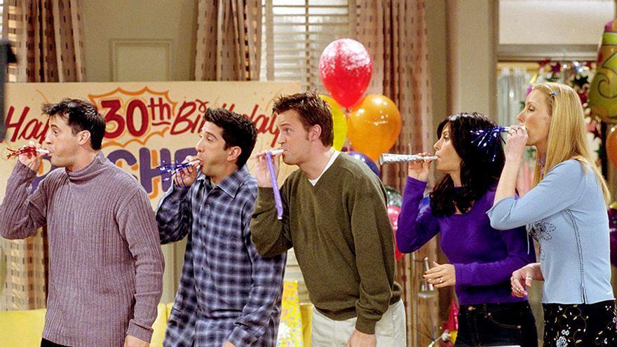 25 momentos de 'Friends' por los 25 años de su estreno en TV