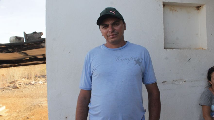 Francinaldo José dos Santos es sercretario de la Asociación del Sítio Tabuleiro Redondo