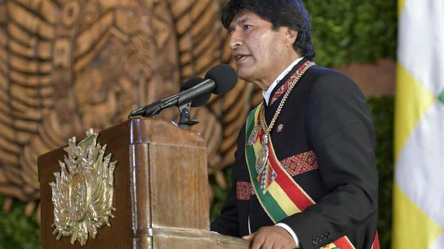 """Evo Morales cuestiona las leves condenas contra militares """"traidores a la patria"""""""