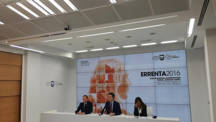 Gipuzkoa ingresa 217 millones en la campaña de Renta 2016 y devuelve 269, con una mejora de 24 millones respecto a 2015