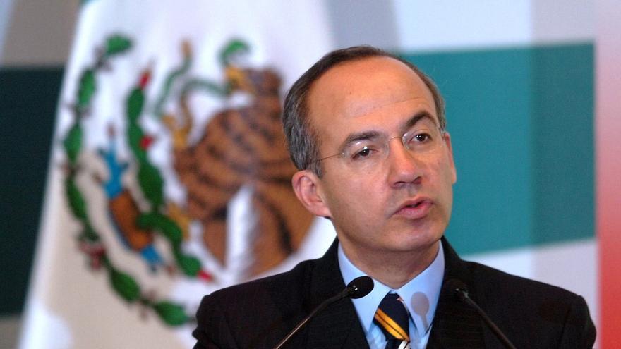 Calderón destaca la evolución de la economía mexicana ante banqueros en Nueva York