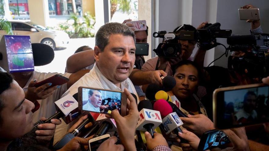 El director de la Alianza Cívica por la Justicia y la Democracia, Juan Sebastián Chamorro.