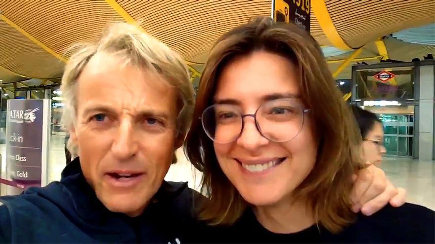 Jesús Calleja y Sandra Barneda