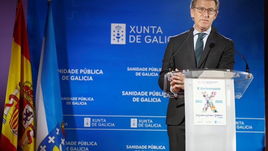 """Feijóo recuerda que los madrileños eligen hoy entre """"dos modelos"""""""