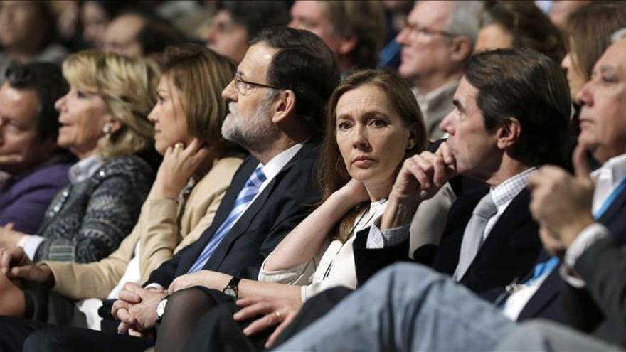 Aznar hará campaña con Cospedal, Aguirre, Cifuentes, Herrera, Rudi y Sanz