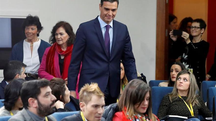 """Sánchez pide a Torra que pase de la """"voluntad de diálogo"""" a un """"diálogo real"""""""