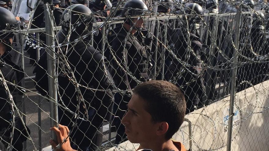 Frontera entre Serbia y Hungría © Orsolya Jeney/Amnesty International Hungary