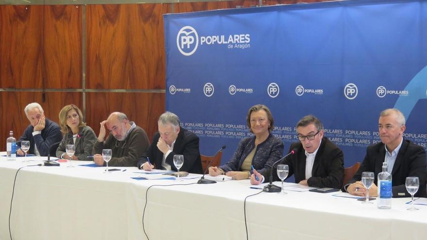 Rudi (PP) subraya los problemas para prestar los servicios sociales por falta de financiación en comarcas de Aragón