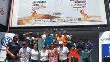 El Gran Canaria Air Battle Kiteboarding Festival concluye sin ganador masculino por la ausencia de viento