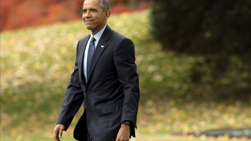 """Obama destaca la relaciones con Cuba, el TPP y el matrimonio gay como """"logros"""" de 2015"""