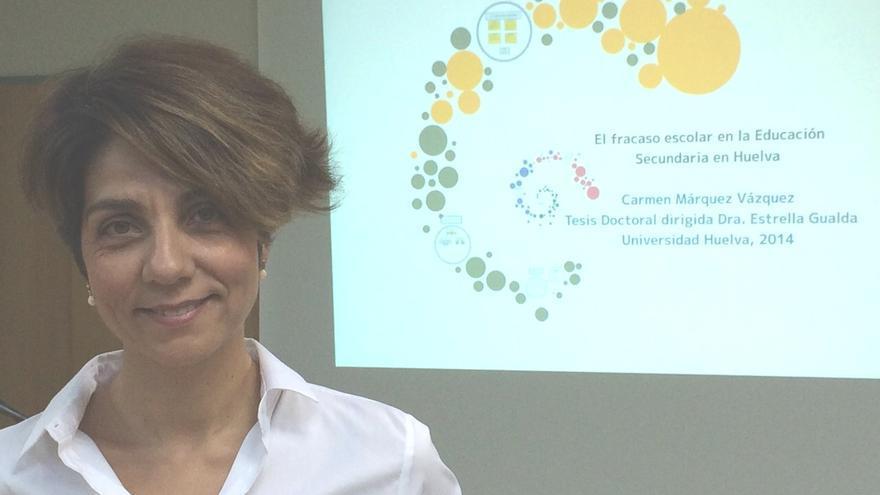 La profesora autora de la tesis doctoral.