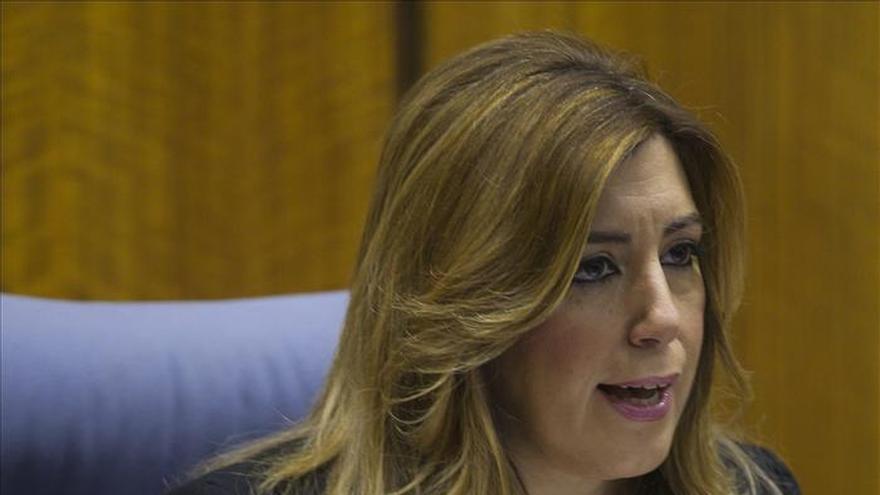 Díaz dice que Andalucía es donde más bajó el paro pero seguimos teniendo un drama