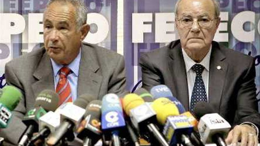 Los empresarios Antonio Plasencia e Ignacio González.