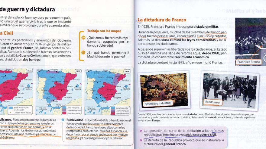 Libro de Primaria en la Comunidad de Madrid.