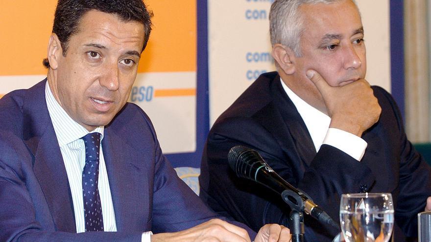 Los exministros Arenas y Zaplana comparecen en la comisión de los ERE