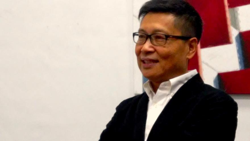 Kin-Man Chan, líder de la Revolución de los Paraguas / Alejandro Ávila