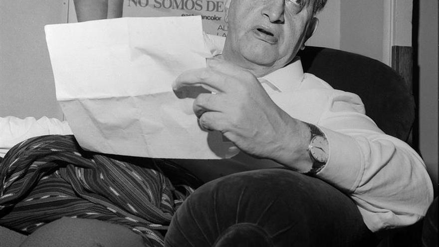 Declaran 2017 el año del cincuentenario del Nobel de Literatura a Miguel Asturias