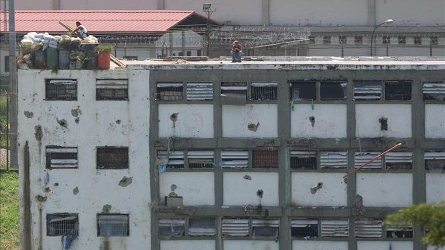 El Gobierno venezolano asegura que ha desarmado el 80 por ciento de las cárceles del país
