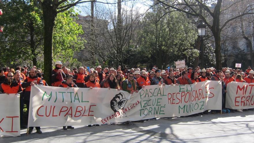 Los comités de Arcelor de toda España se concentrarán el jueves en Guipúzcoa ante el temor a cierres