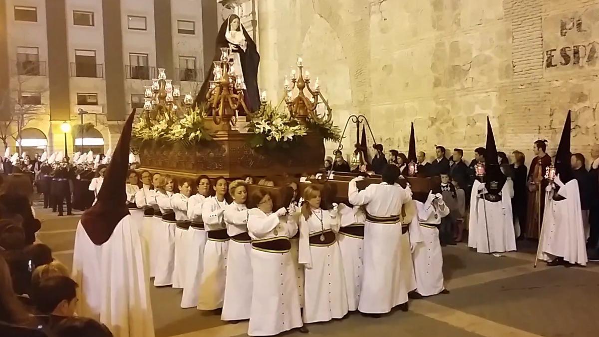 Procesión de Viernes Santo en Yecla