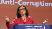 Imagen de archivo: Cecilia Malmström visita España para reunirse con Fernández Díaz y Margallo/ Efe