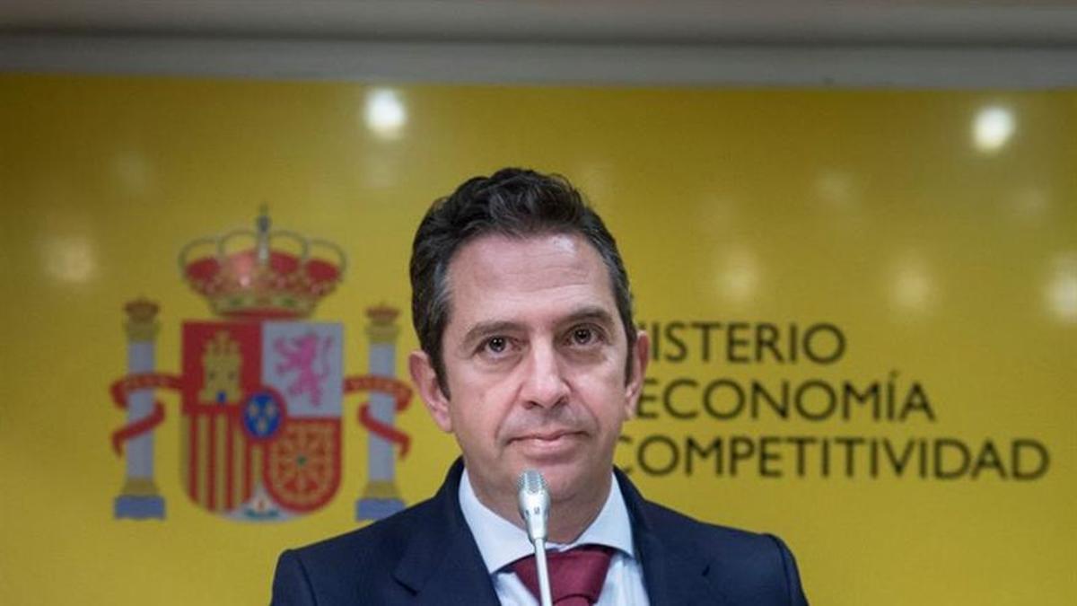 Íñigo Fernández de Mesa, en su etapa en el Ministerio de Economía.