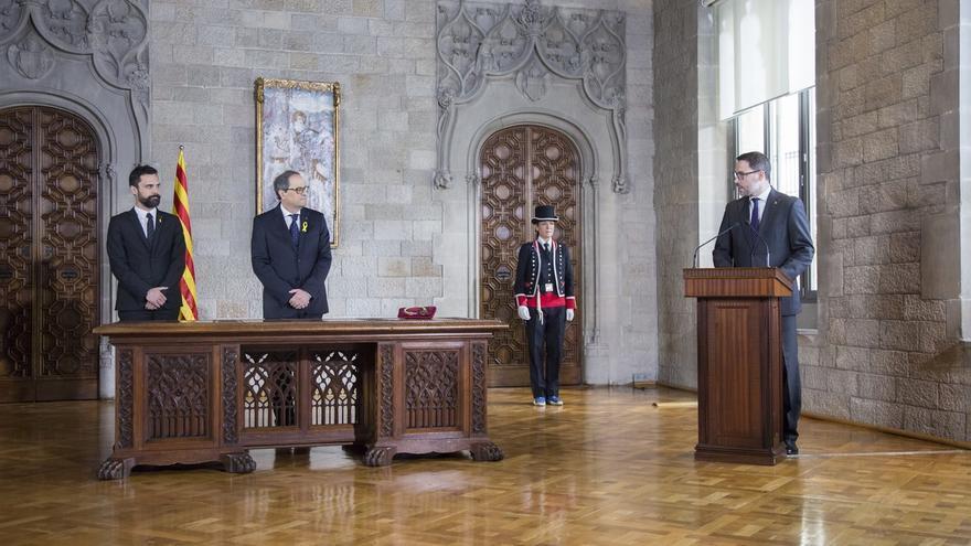El Dogc publica la toma de posesión de Torra como presidente de la Generalitat