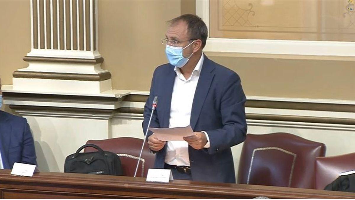 Sergio Rodríguez, diputado de CC por La Palma en el Parlamento de Canarias.