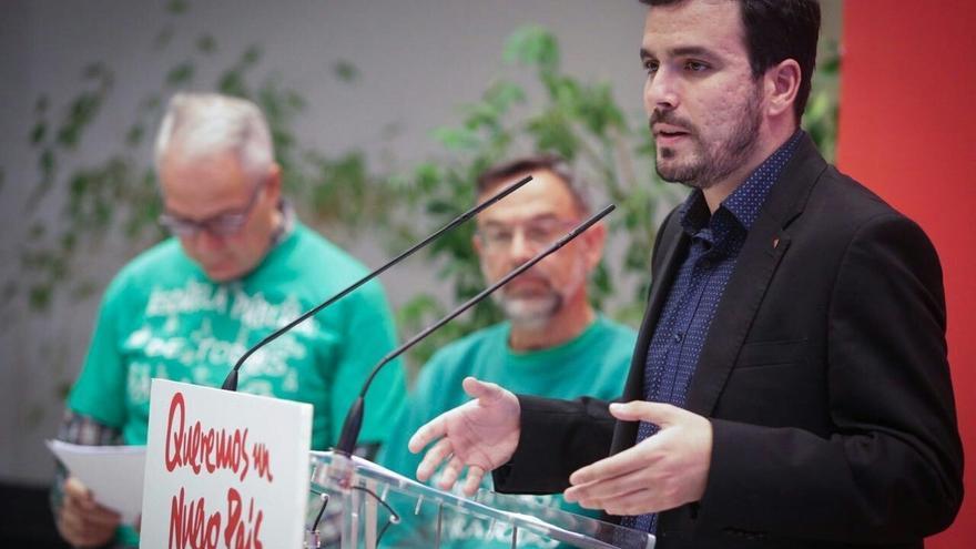 """IU quiere una educación gratuita """"de los 0 a los 100 años"""" no sometida a los """"vaivenes"""" del partido en el Gobierno"""