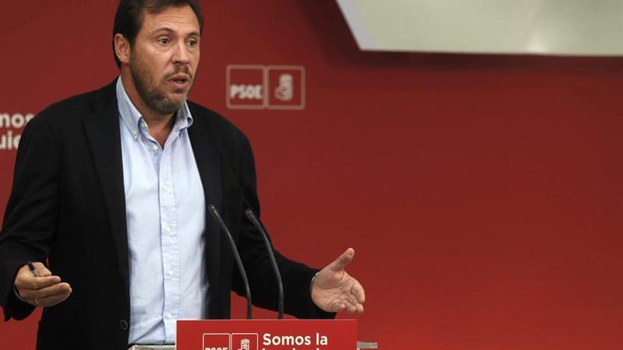 El portavoz de la Ejecutiva del PSOE y alcalde de Valladolid, Óscar Puente.