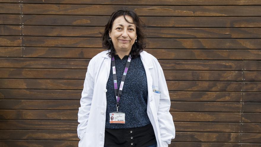 La investigadora Nuria Vilaboa, del hospital La Paz. / Fernando Sánchez