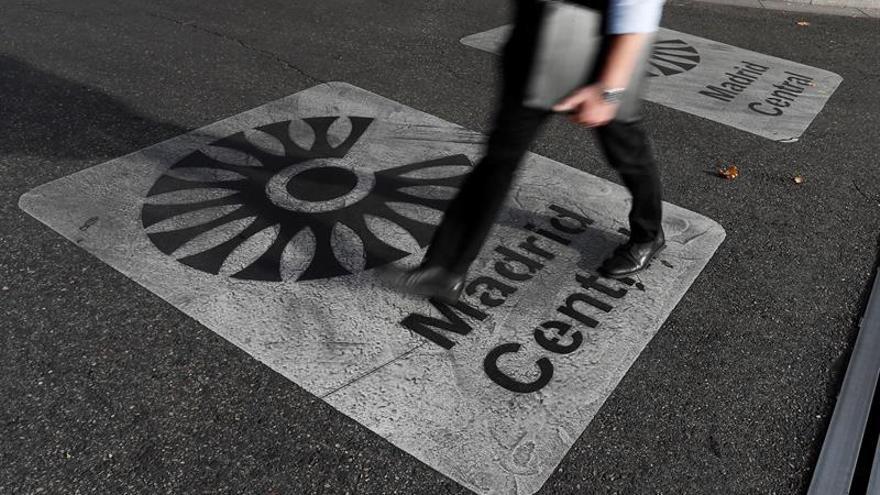 Las multas de Madrid Central pasaron de 7.358 en abril a 120.305 en octubre