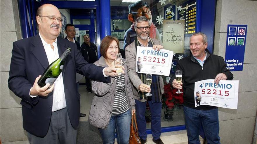Un lotero de San Vicente del Raspeig (Alicante) reparte 7 millones de un cuarto