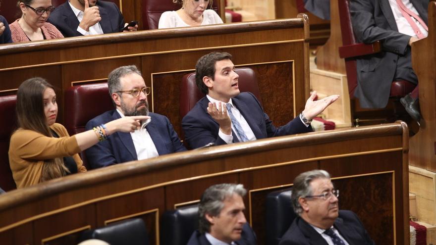 """Rivera critica a Torra por convertir la toma de posesión del Govern """"en un acto separatista"""""""