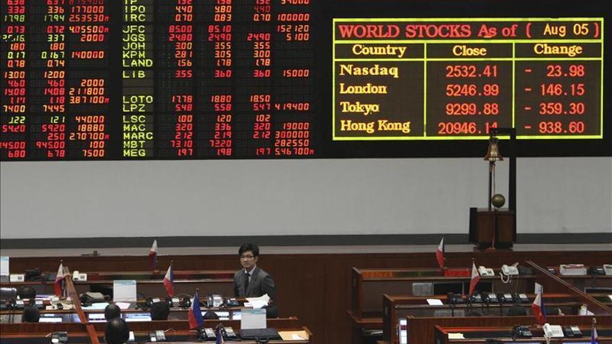 Las bolsas del sudeste asiático abren con mayoría de números rojos