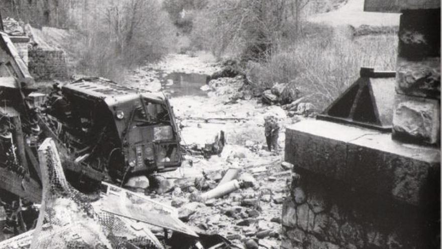 Un accidente en 1970 provocó el cierre de la línea de Canfranc.