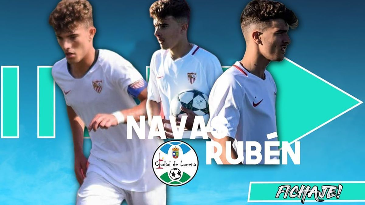 Rubén Navas, nuevo jugador del Ciudad de Lucena.