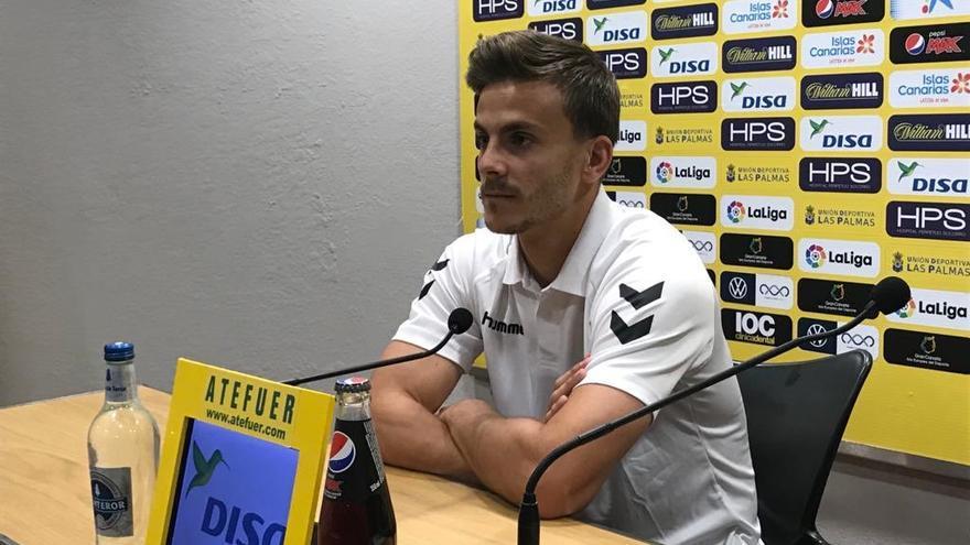 Eric Curbelo, defensa de la UD Las Palmas.