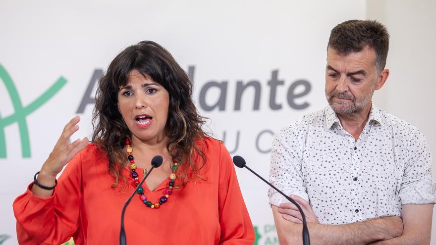 """Teresa Rodríguez no descarta apoyos a PSOE-A con """"un programa de políticas de cambio"""" para ser """"barrera a derechas"""""""