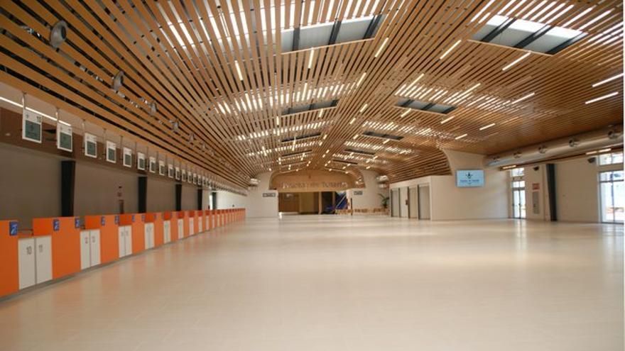 Edificio principal de la nueva terminal de cruceros de Santa Cruz de Tenerife