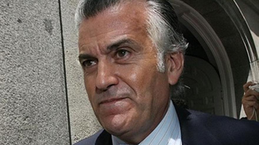 Luis Bárcenas, tras declarar