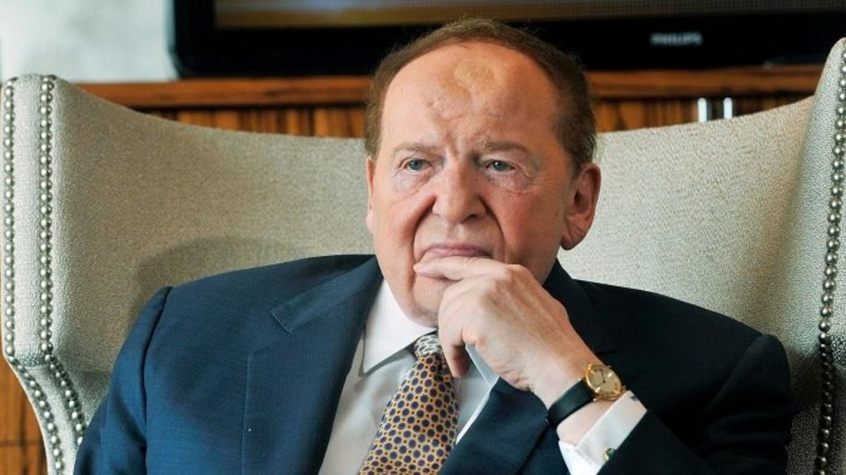 Sheldon Adelson, en una imagen de archivo.