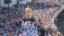 Imagen de archivo de la Bajada de la Virgen.